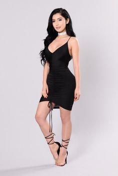 Voyager Dress - Black