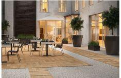 Image result for outdoor tiles gravel