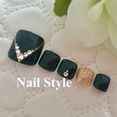 Blue Nail Designs, Pedicure Designs, French Nail Designs, Pedicure Nail Art, Toe Designs, Toe Nail Art, Pretty Toe Nails, Cute Toe Nails, Fancy Nails