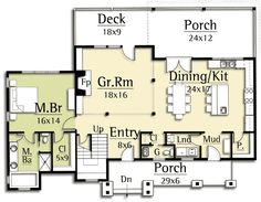 2300sq ft total Girls loft/ vaulted ceilings Kit/din/living room open floor plan