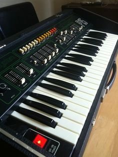 MATRIXSYNTH: Eko Synth P15 Vintage Syntesizer - very rare prese...