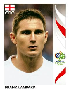 106 Frank Lampard - England - FIFA World Cup Germany 2006