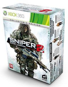 Sniper 2: Ghost Warrior - Collectors Edition (XBOX360) Xbox 360 Games, The Collector, Microsoft, Xbox Controller