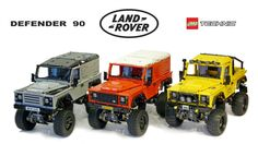 LEGO RC ADVENTURES - Landrover Defender 90 series