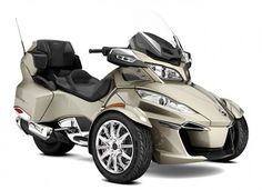 SPYDER Can-Am  Bombardier Can-Am Spyder RT Limited SE6 Champagne Metallic '17
