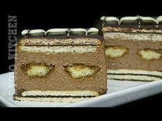 Prajitura cu biscuiti si piscoturi   Adygio Kitchen - YouTube