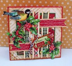 Best of Betsy's: Four More Graphic 45 Christmas Cards