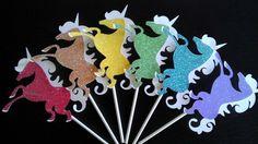 toppers de unicornios