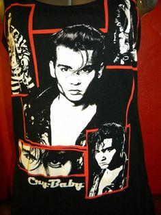Cry Baby Johnny Depp Reconstructed Tee Shredded by KillWalmart, $15.00
