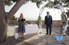 Chania in Crete, is one of the most beautiful places to have your wedding in Greece. Wedding ceremony was held at a beautiful place with a stunning view. Crete Island, Greece Islands, Stunning View, Most Beautiful, Beautiful Places, Heraklion, Greece Wedding, Crete Greece, Beautiful Islands