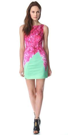 Matthew Williamson Tailored Wrap Mini Dress | SHOPBOP