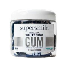 SUPERSMILE Whitening Gum - 100 CT