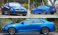 2016 Cadillac ATS-V Sedan Manual Test – Review – Car and Driver