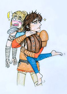 A chief protects his own! #hiccstrid #HTTYD #RTTE