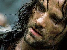 Viggo Mortenson as Aragorn