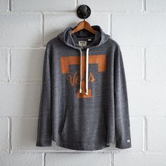 Tailgate Tennessee Oversize Hoodie ($70) ❤ liked on Polyvore featuring tops, hoodies, grey, oversized hoodies, gray hoodie, hooded sweatshirt, gray top and hooded pullover