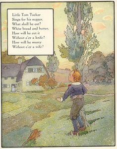 """""""Little Tom Tucker"""", 1925  . . . . illustrations by Frederick Richardson"""
