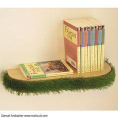 Grass Floating Shelf