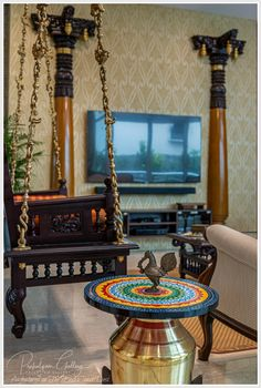 indian home decor the east coast desi: Of old things and New (Home Tour) India Home Decor, Ethnic Home Decor, Moroccan Decor, Indian Home Interior, Indian Interiors, Indian Living Rooms, Home Living Room, Indian Style Bedrooms, Indian Homes