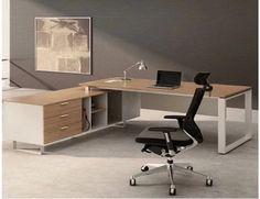 办公家具 时尚老板桌 定制钢木大班台 板式大班桌 经理桌 主管桌-淘宝网