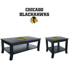 Use this Exclusive coupon code: PINFIVE to receive an additional 5% off the Chicago Blackhawks Table Set at SportsFansPlus.com