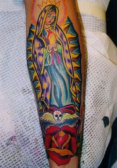 Mary Tattoo #10