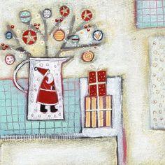 Louise-rawlings - Artists & Illustrators - Original art for sale direct from the artist New Artists, Famous Artists, Original Art For Sale, Original Artwork, English Artists, Art Archive, Naive Art, Winter Theme, Medium Art