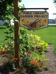Beginning of a Library Garden