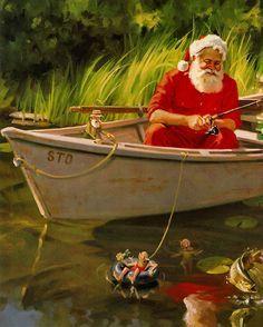 Tom Browning Nautical Christmas, Cowboy Christmas, Christmas Fashion, Father Christmas, Santa Christmas, Christmas Pictures, Christmas Posters, Christmas Border, Beach Christmas