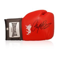 Nigel Benn Signed Lonsdale Boxing Glove. £74.99 online now at Exclusive Memorabilia.