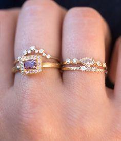 Unbelievably beautiful 18 karat gold .75 carat Spinel Ring.