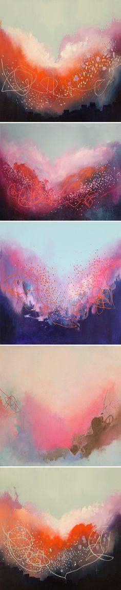 oil paintings by Georgina Vinsun <3