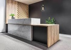 Used Office Reception Desk . Used Office Reception Desk . Reception Counter Design, Curved Reception Desk, Office Reception Design, Lobby Reception, Modern Reception Area, Hospital Reception, Salon Reception Area, Wedding Reception, Corporate Office Design