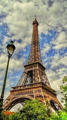Eiffel tower, Paris, France Yes, I'm scared of heights and have passed going up in times past.  Have promised my daughter to share a glass of her special 1998 vintage Dom Perignon at the top with her on her 21st birthday - Jan 13, 2019!  Looking forward to it my sweetie!