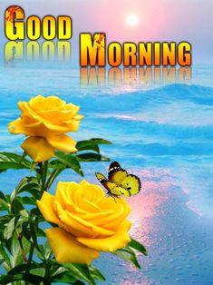 Good Morning Happy, Good Morning Flowers, Beautiful Morning, Good Morning Images, Good Morning Quotes, Good Morning Greeting Cards, Good Morning Greetings, Beautiful Love Pictures, Good Morning Wallpaper