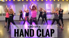 """HandClap"" By the Fitz and the Tantrums.  SHiNE DANCE FITNESS"