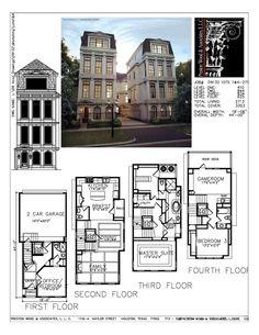Townhouse Plan D9132 LOTS 1-4-F