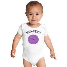 Member Berries Baby Onesies