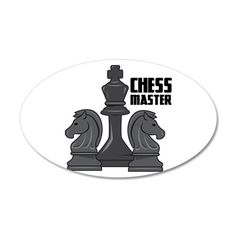 Chess Master Wall Decal on CafePress.com