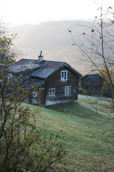 Old farm Kvernrud Numedal. Norway. Foto Gunn Heiberg