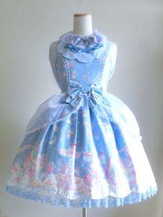 sweet lolita Milky Planet Dress Modification