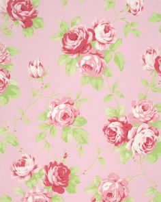 New Tanya Whelan Collection! Pre-Sale Lulu Roses PWTW092.PINKX, Shabby Chic Floral Fabric, Free Spirit, Roses Fabric