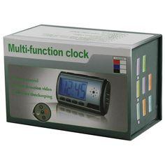 Digital Alarm Clock DVR with Motion Detector 4GB - NuMercy.com