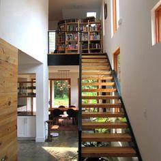 Newcomer Residence - industrial - staircase - atlanta - Bork Design, Inc.