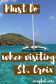 St. Croix Travel Guide. From Point Udall to snorleling at Buck Island.  caribbean vacation must do's in st. croix - #USVI #familytravel #travel