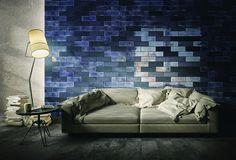 Denim wall treatment