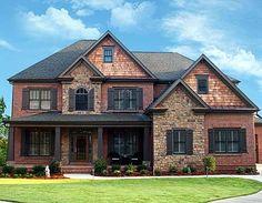 Plan W15720GE: Craftsman, Northwest, Corner Lot, Photo Gallery, Mountain House Plans & Home Designs