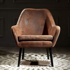 online shopping for Versanora Divano Accent Chair, Aged Fabric Brown from top store. See new offer for Versanora Divano Accent Chair, Aged Fabric Brown Intelligent Design, Living Room Chairs, Living Room Furniture, Brown Furniture, Furniture Decor, Leather Furniture, Living Rooms, Decor Market, Cozy Sofa