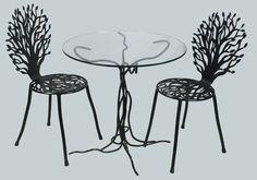 Unique Australian made  wrought iron furniture