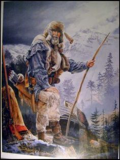 Sketchbooks 1785 - 1850, Fur Trade & Mountain Man - Track of the Wolf - Google Search